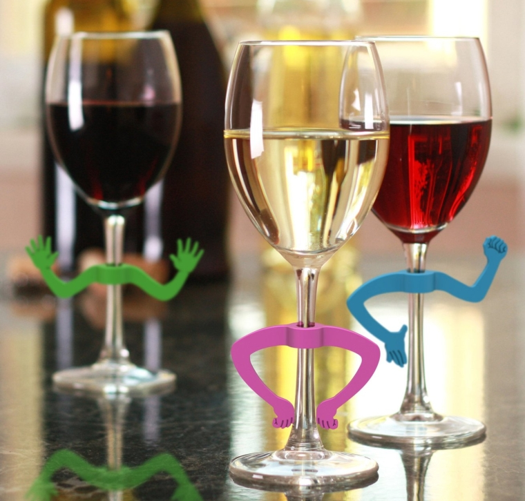 CHARADES Gesturing Drink Markers