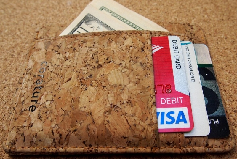 Cork Wallet Money Clip