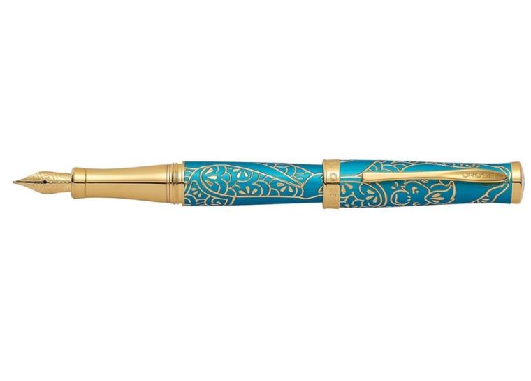Cross Year Of The Monkey Fountain Pen Tibetan Teal Medium