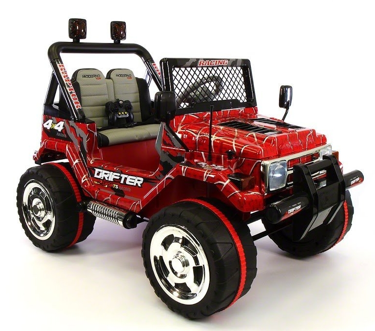 Ride on Car Toy Jeep Wrangler Style 2 Motors