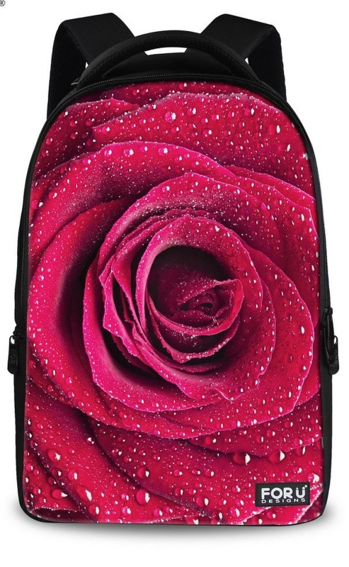 Romantic Rose Floral Backpack
