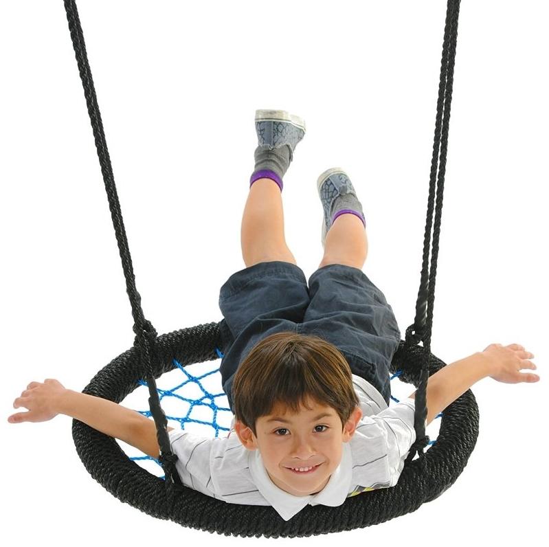 Spider Web Playground Swing