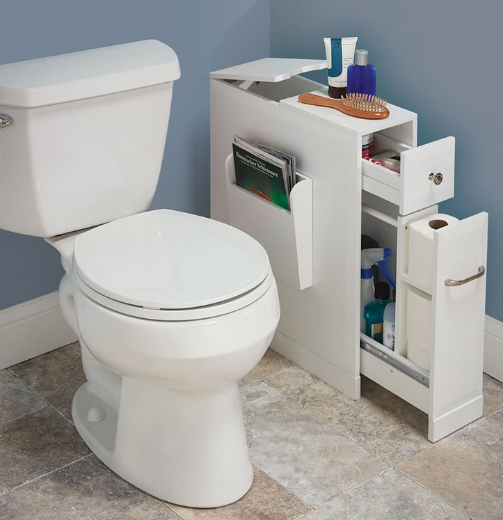 The Tight Space Bathroom Organizer