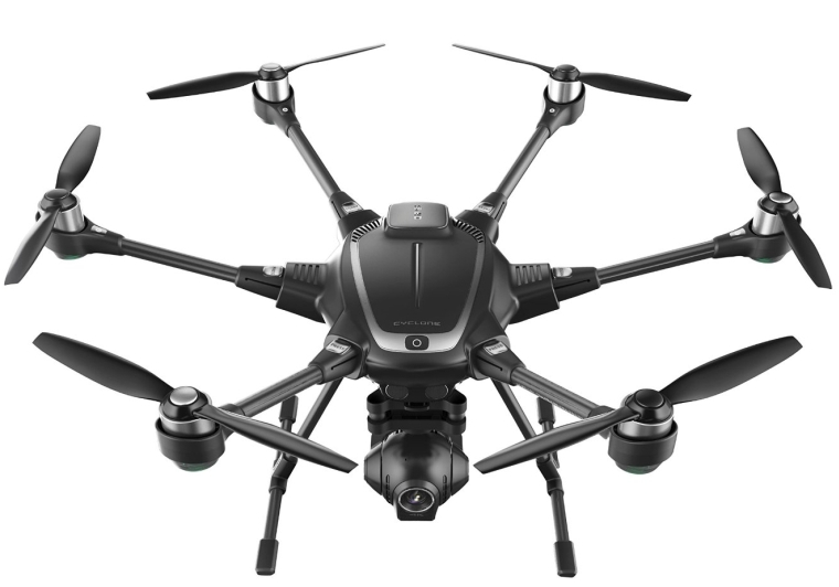 4k Collision Avoidance Hexacopter