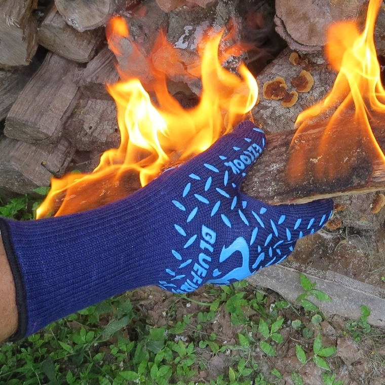 BlueFire Pro Extreme Protection Cooking & Grilling Gloves