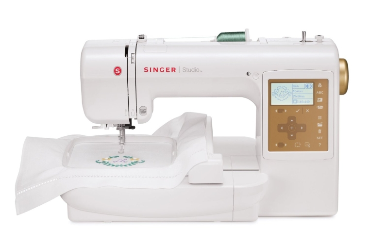 Embroidery Machine with 55 Built-In Designs