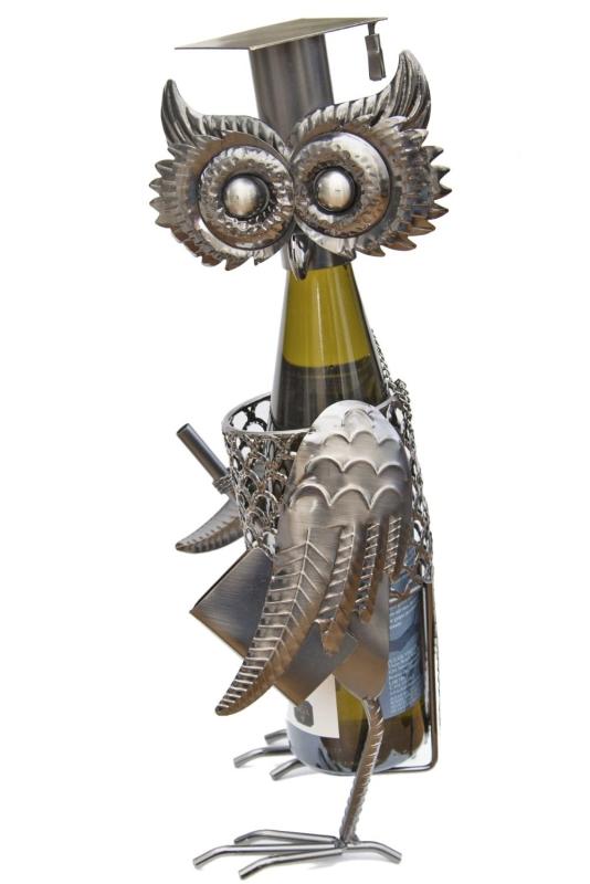 Fabulous Owl Wine Bottle Holder Plus a Foil Cutter
