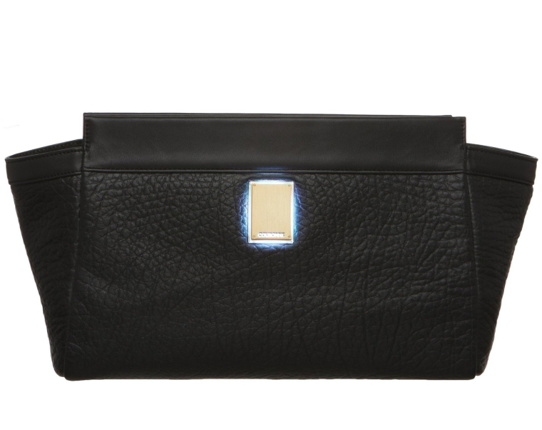 Glimm Smart Bag By Couronne Women's Cowhide Kain Clutch (Bluetooth Enabled)