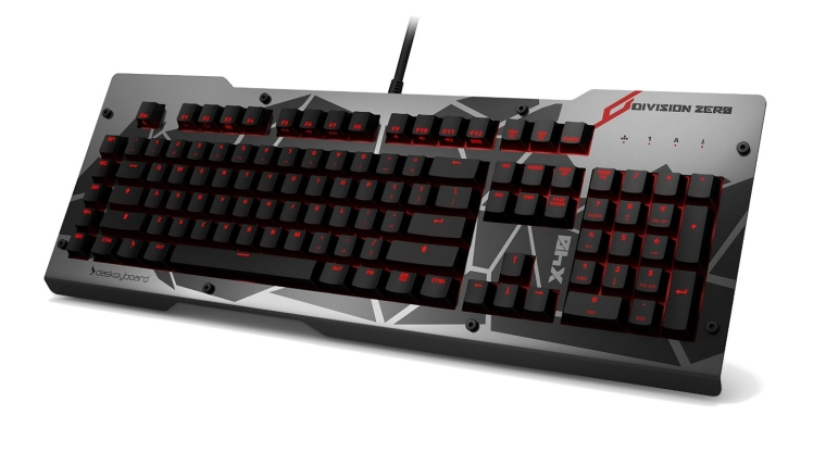Keyboard Division Zero X40 Pro Gaming with Alpha-Zulu Linear Switch