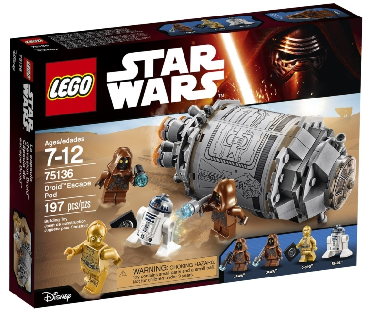 LEGO Star Wars Droid(TM) Escape Pod