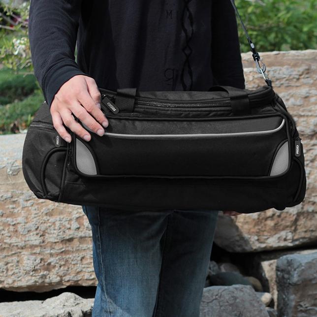 Portable Clothing Shelf Duffel Bag