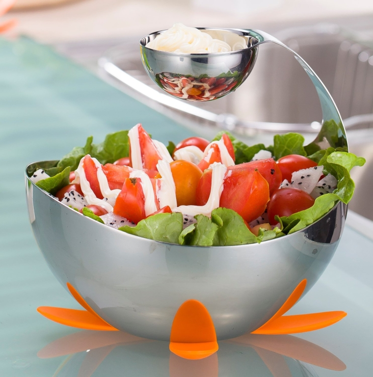 Stainless Steel Chip and Dip set