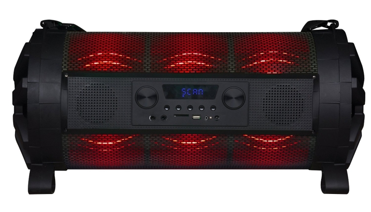 Street Hopper Speaker with Light Show 2-Channel Home Theater Stereo System
