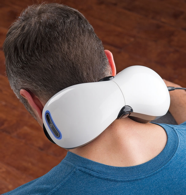 The Adjustable Fit Dual Head Massager