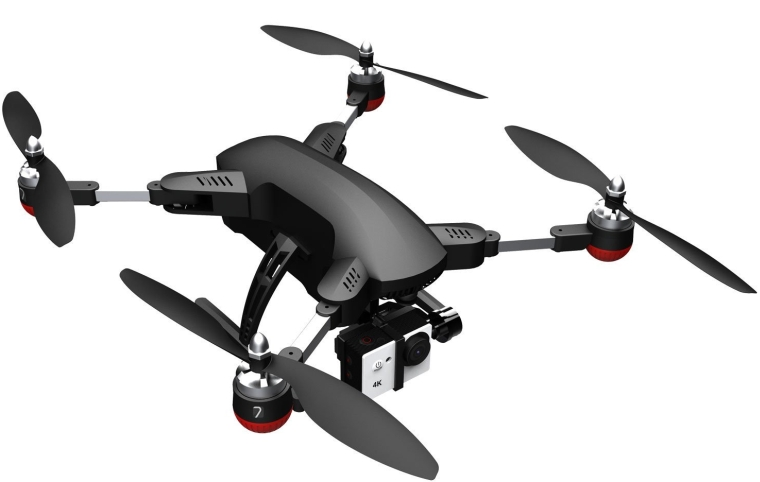 7 Hawk4k Folding Drone With 4k Camera and Watch Controller