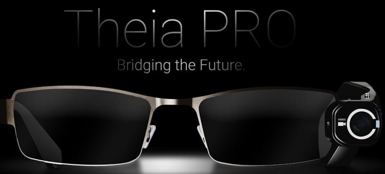 7 TheiaPro App Enabled EyeGlasses Camera