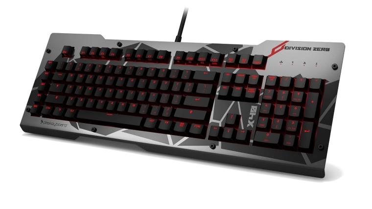 Das Keyboard Division Zero X40 Pro Gaming Mechanical Keyboard