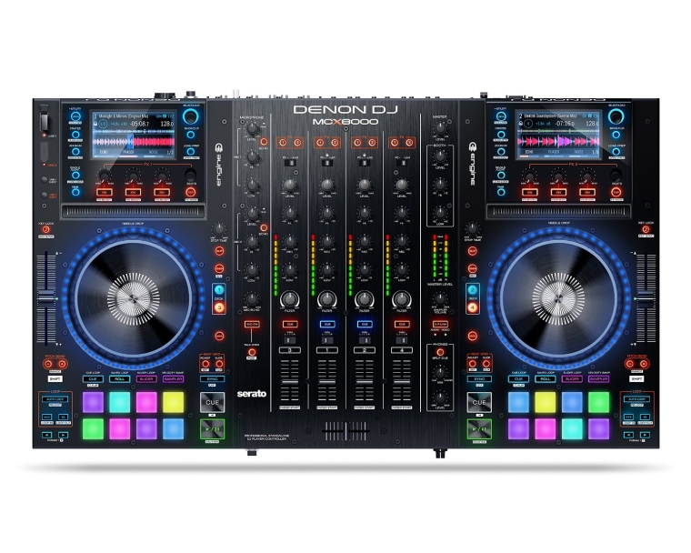 Denon DJ MCX8000 Standalone DJ Player and Serato DJ Controller