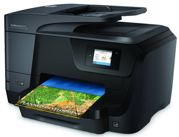 HP OfficeJet Pro 8710 All-in-One Color Photo Printer with Wireless