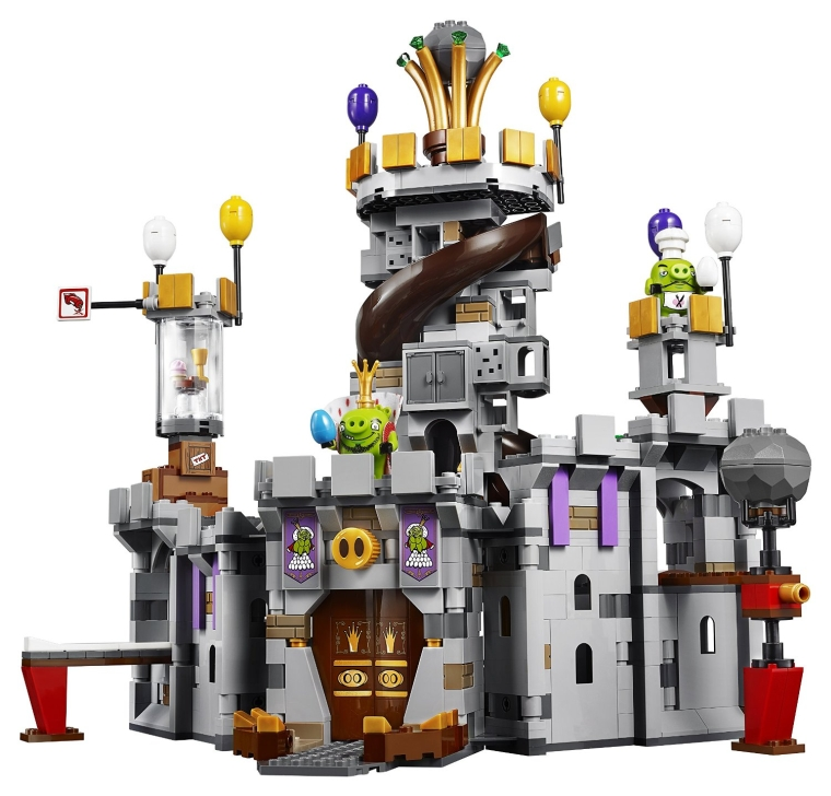 LEGO Angry Birds 75826 King Pig's Castle Building Kit