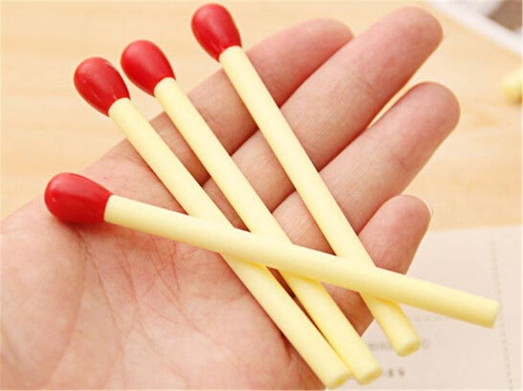 Matchstick Shaped Pen Ball Point Pen