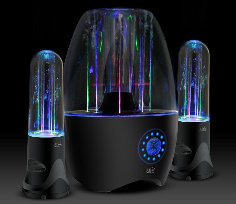 Music Fountain Amplifier Dancing Water SpeakersWi-Fi Portable Wireless Bluetooth 4.0 Water Speaker