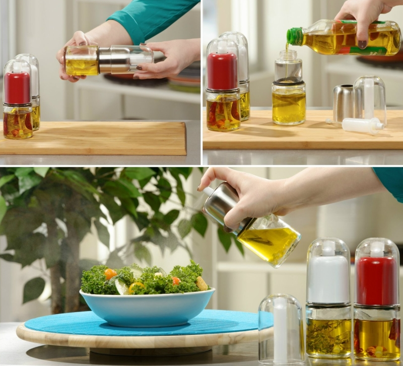 Olive Oil Mister and Cooking Sprayer