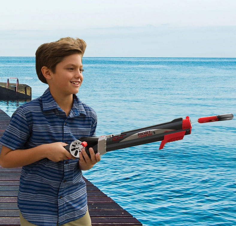 The Child's Self Casting Fishing Rod