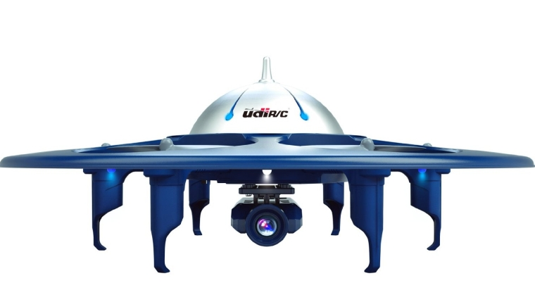 Wifi FPV 2.4Ghz RC Headless Quadcopter Drone UFO with 720P HD Camera, Ios & Android Phone Control