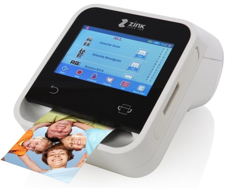 ZINK Wireless Touchscreen Printer. Wi-Fi Enabled