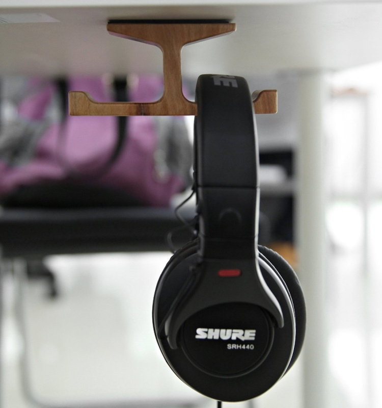 Dual Headphone Stand
