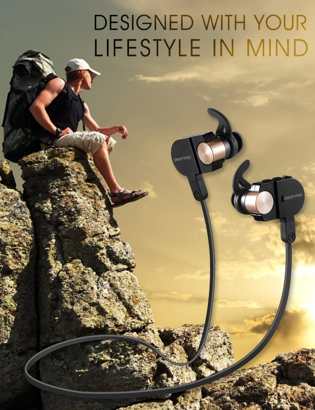 Light & Comfortable Sport Bluetooth Headphones