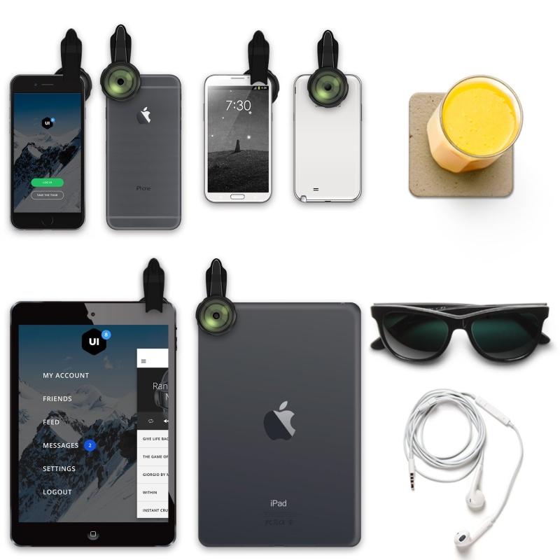 Mozeat Lens 3X Telephoto Lens, Professional HD Cell Phone Camera Lens, 3x As Close