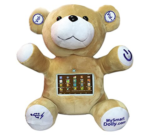 MySmartDolly Cuddly Bear Featuring Stories, Songs & Games