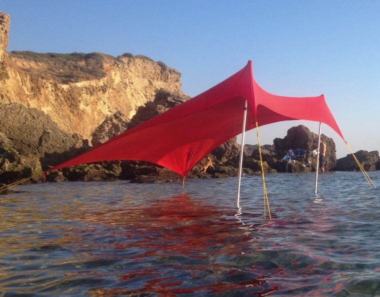 Otentik Beach SunShade - With Sandbag Anchors