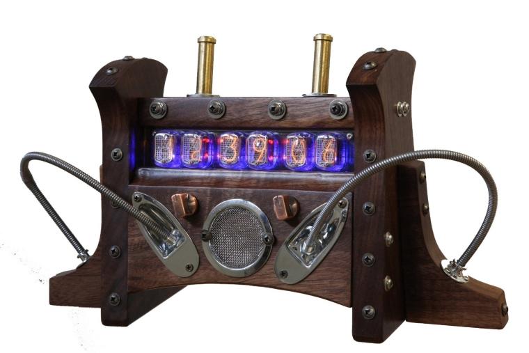 Steampunk Nixie Tube Clock