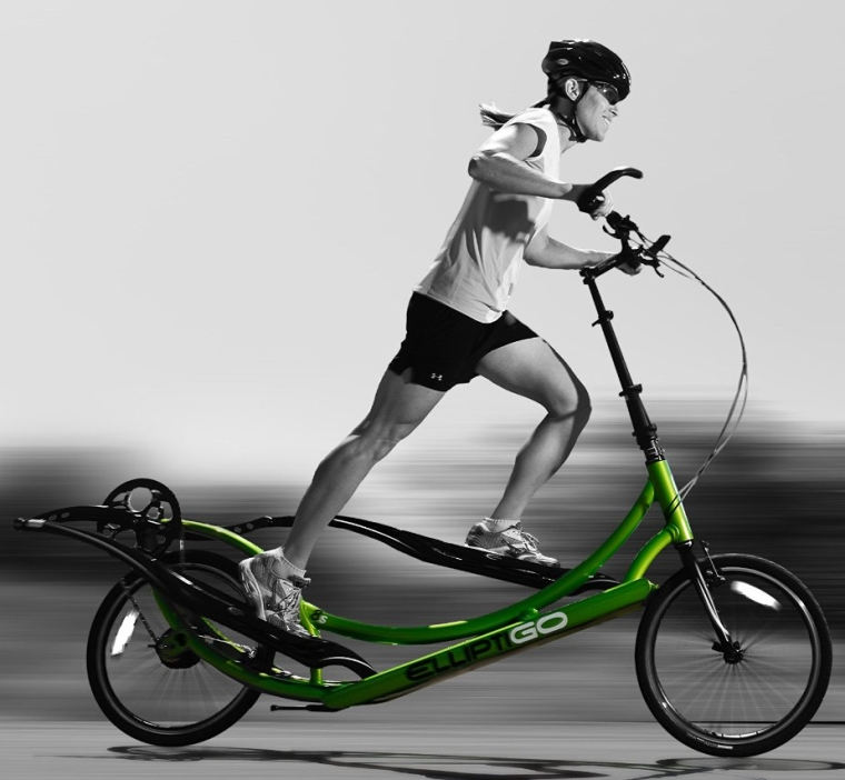 The World's First Outdoor Elliptical Bike AND Your Best Indoor Elliptical Trainer