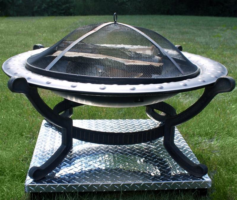 Deck Defender & Grass Guard - Fire Pit Heat Shield