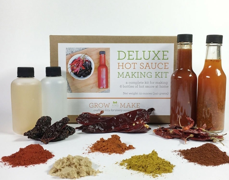 Deluxe Hot Sauce Making Kit