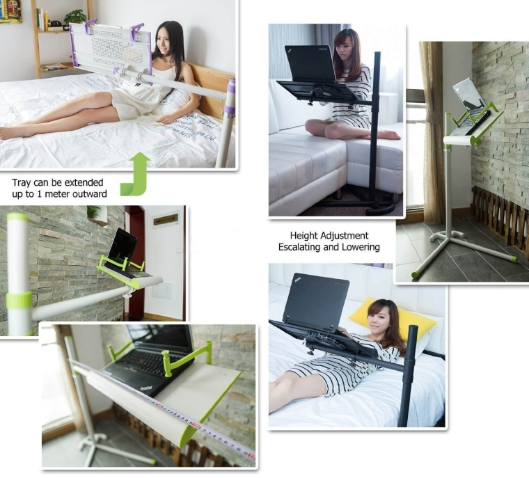 Er Rotatable Laptop Floor Stand