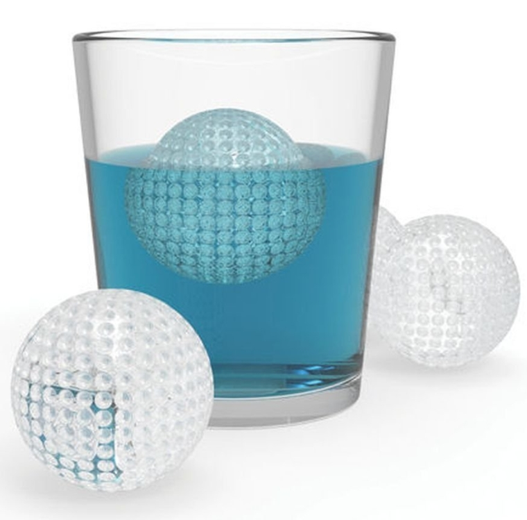 Golf Ball - Silicone Ice Sphere Mold