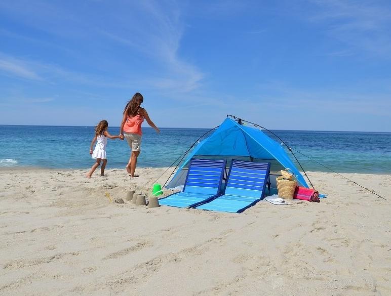 Lightspeed Outdoors Mini Pop Up Beach Tent Sun Shade