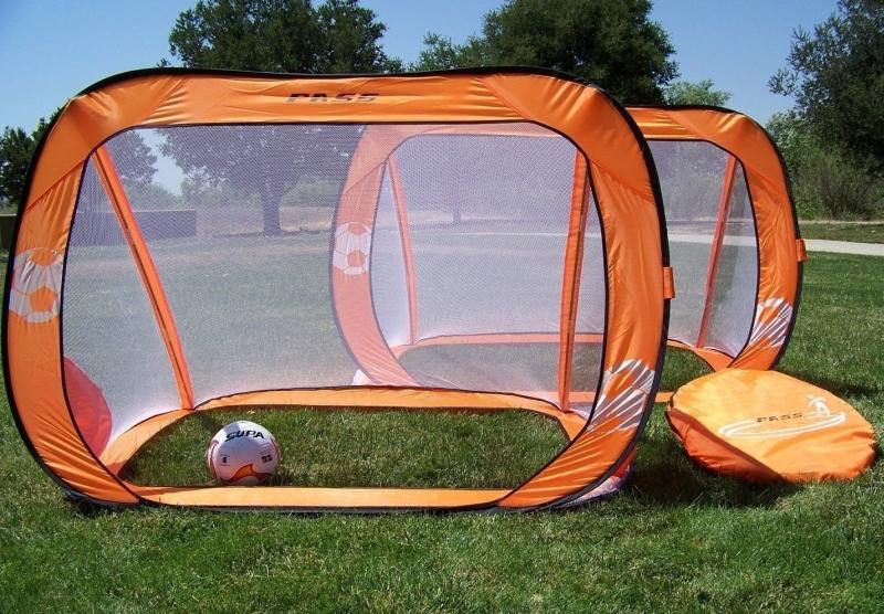Orange Pop up 6x4 Foldable