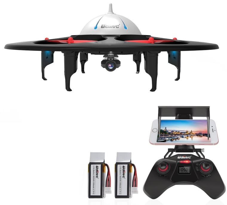WiFi FPV UFO Quadcopter Drone with HD Camera