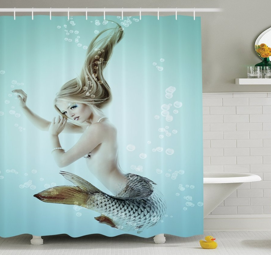 Ambesonne Mermaid Decorations Collection