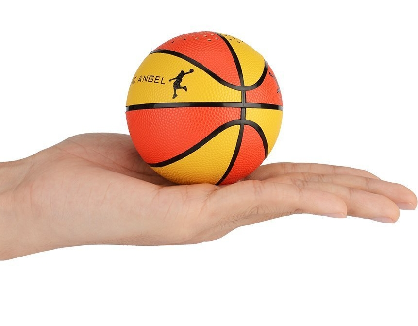 Portable Wireless Bluetooth Speaker with Basketball handmade Design