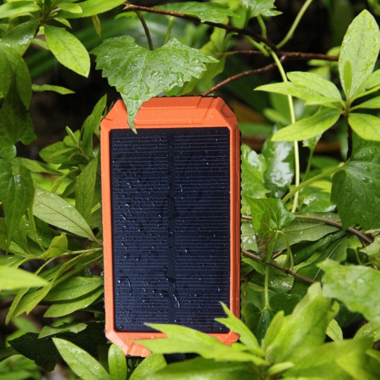 10000mAh Solar Charger 2-Port USB Solar Power Bank