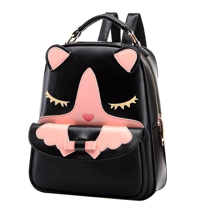 Backpack Teens Girls Shoulder Bag Knapsack Satchel