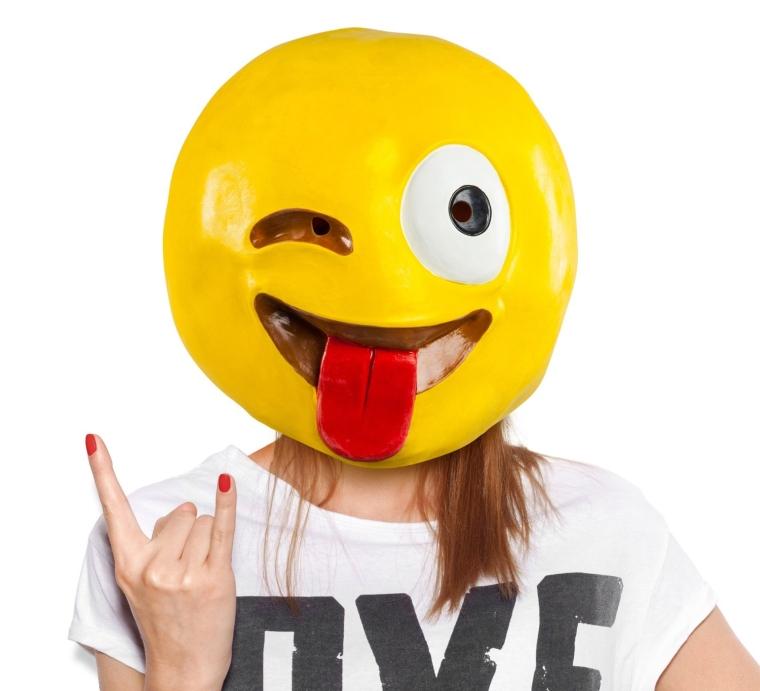 Crazy Wink Mask