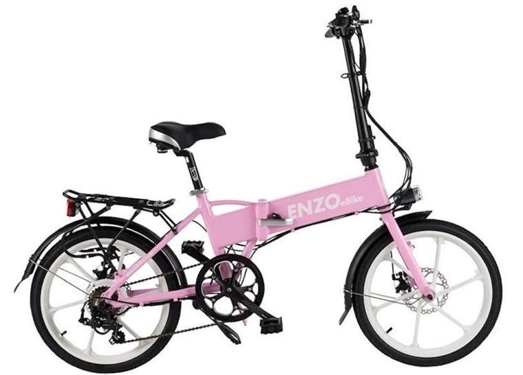 Enzo eBike Electric Folding Bike Lightweight Electric Bicycle